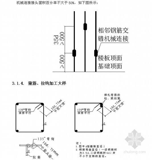 [北京]产业园区职工宿舍钢筋工程施工方案