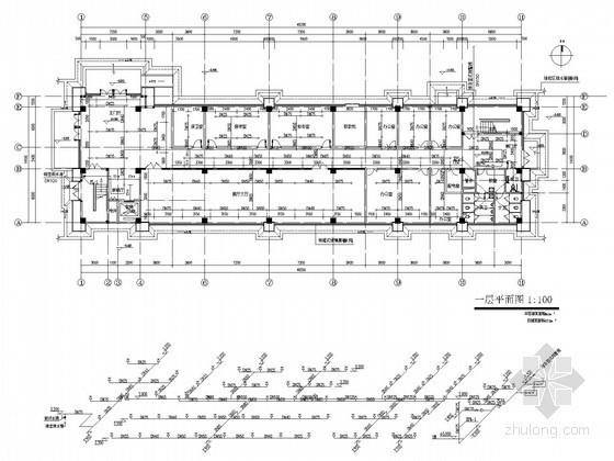 [湖南]某高校综合楼给排水全套施工图