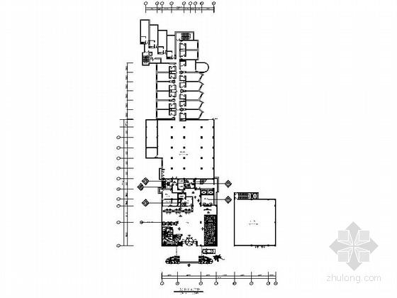[湖州]市中心繁华地段高档综合性商务酒店设计装修施工图
