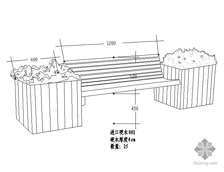四种特色木质座椅样式图