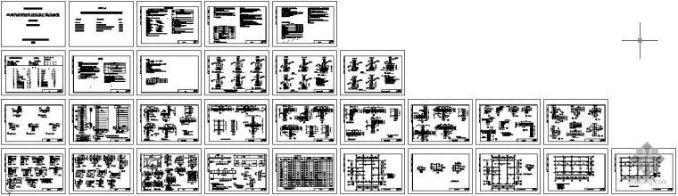 [川]农村居住建筑抗震构造图集砖砌体结构CAD图集