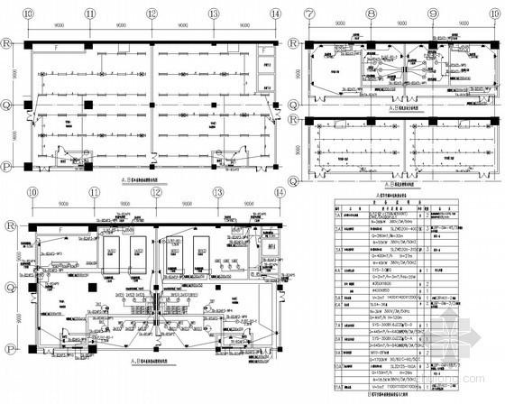 [河北]35万平国内大型知名广场项目购物中心全套电气施工图纸140张