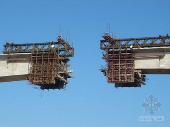 高速公路大桥挂篮施工图设计(计算单及加工CAD)