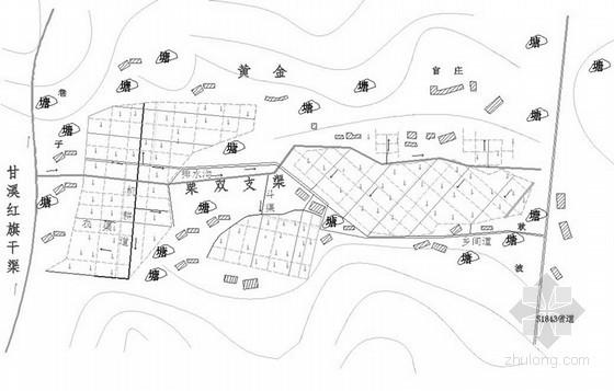 U型灌溉渠设计图资料下载-[湖南]灌区节水灌溉全套图纸
