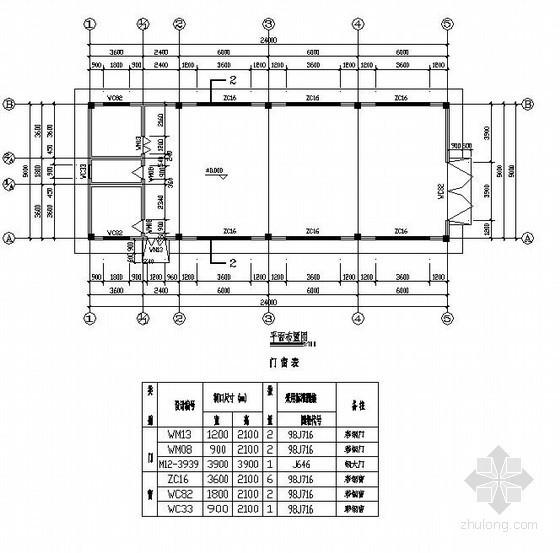 某空压站结构设计图