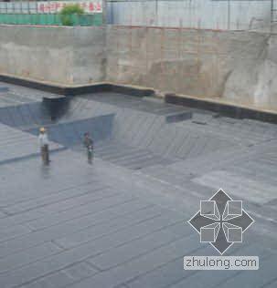 成都市某办公楼防水工程施工方案