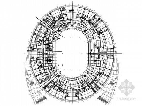 [福建]12万平国际体育场空调通风及防排烟系统施工图(换热站设计)
