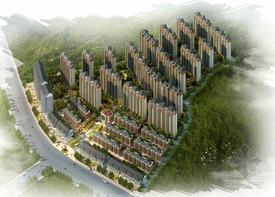 [湖南]欧式风格住宅区规划及单体设计方案文本