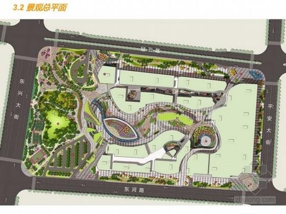 [河北]体验式花园城市广场景观设计方案