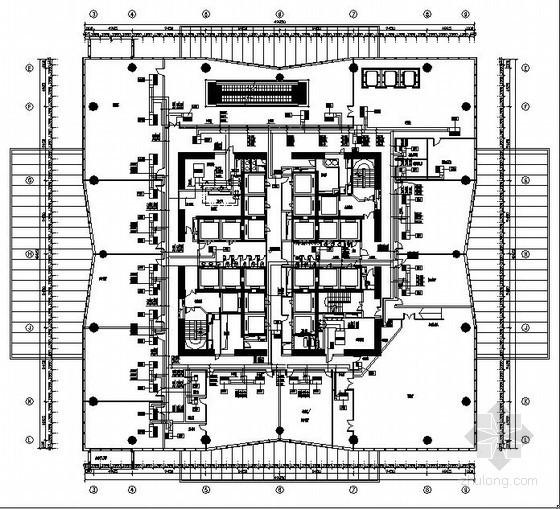 vav自控ddc原理图资料下载-[广州]写字楼暖通设计施工图