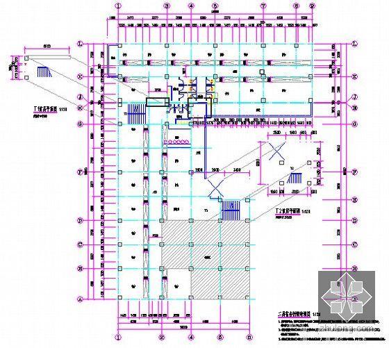 [广东]2015年医院宿舍楼装修工程预算书(附施工图纸)-04二层宿舍拆墙砌墙图