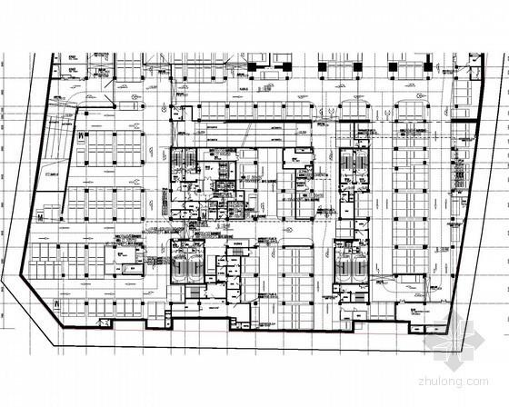 [河南]36.9万平超高层建筑全套强弱电电施图714张(高端商业 国际办公)