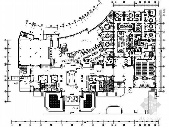 [成都]某高端商务配套五星级酒店施工图(含效果)