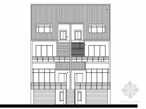 某townhouse住宅单体设计方案四
