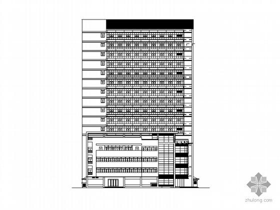 某十六层大型综合医院建筑施工图