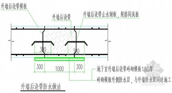 [广东]剪力墙结构住宅楼施工组织设计(土建、机电)
