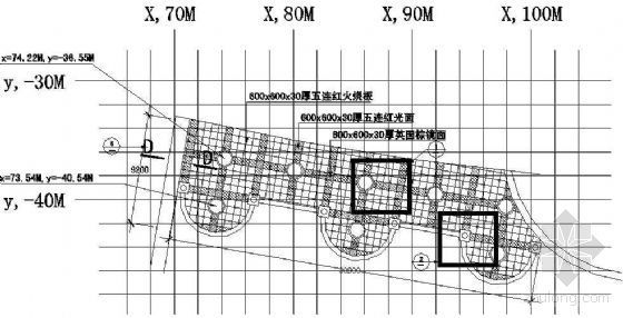 休闲广场节点详图