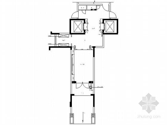 [广东]某豪华住宅小区大堂装饰竣工图