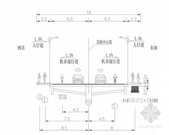 [浙江]中压电缆管道工程施工图
