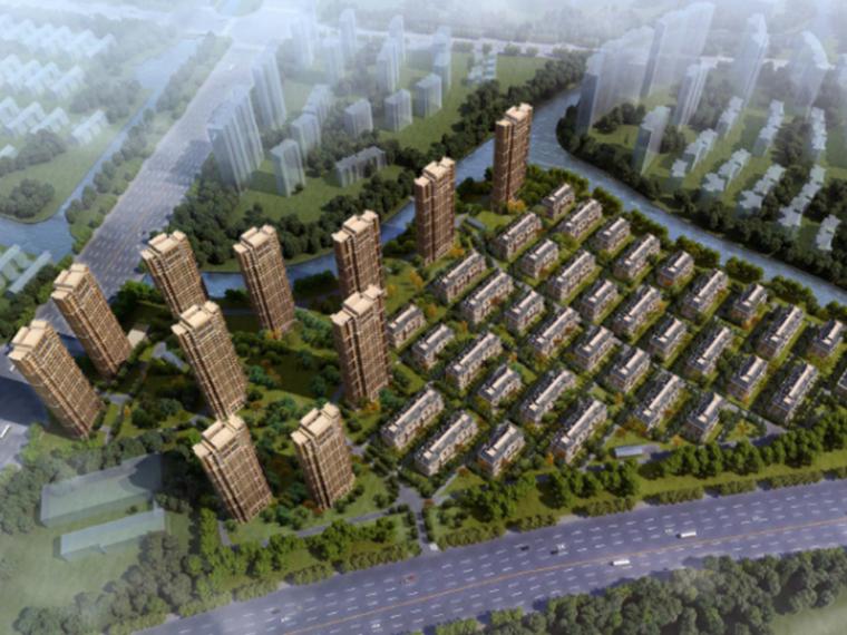 [浙江]九龙仓君廷钱江经济开发区住宅小区规划设计方案文本