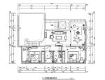 [内蒙古]新中式风格样板间设计施工图(附效果图)