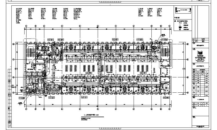 启东市行政综合服务中心施工图(水暖全套)