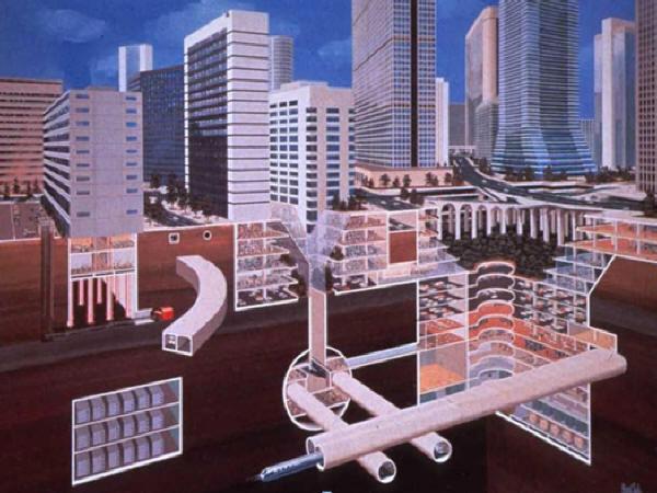 《地下空间规划设计及地下空间建造新技术》课程讲义2372页PPT