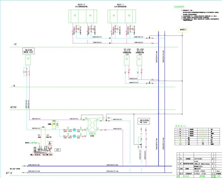 华为南方工厂二期-净化空调、通风系统设计(25张图纸包括设计、施工总说明)
