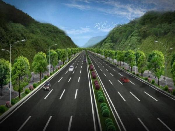 高等级公路的景观设计