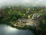 后现代感玉溪抚仙湖国际休闲度假社区规划设计方案文本