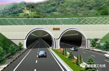分离式独立双洞结构隧道施工_3