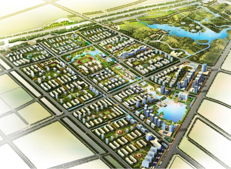 [江苏]扬州南部新城城市设计方案文本