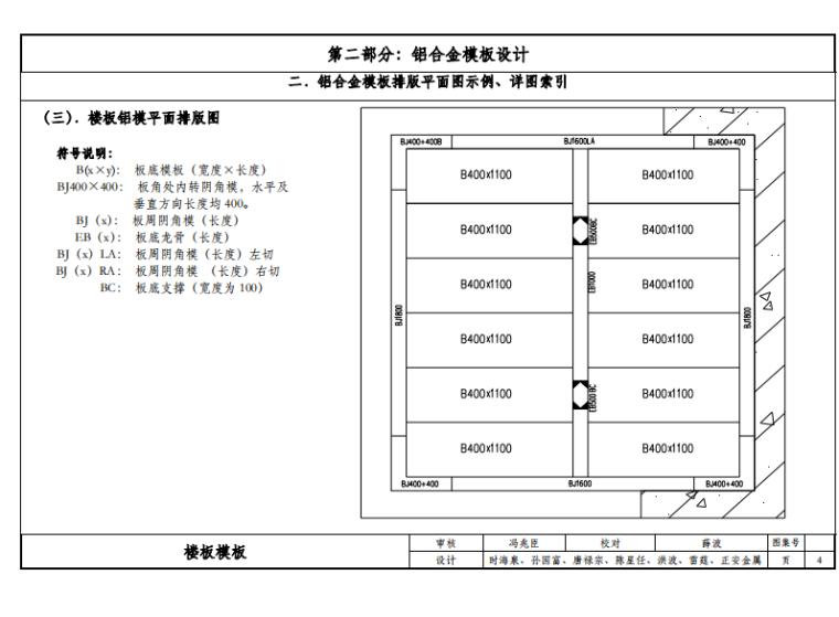 铝合金模板工艺工法图集