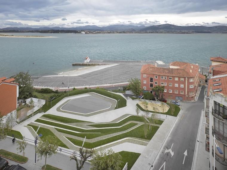 西班牙SanMartindelaMar广场
