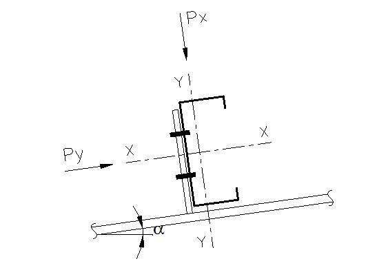 屋面檩条计算-C型檩条(excel)