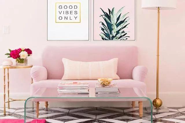 你不知道的客厅彩色沙发,给你不一样的格调。_3