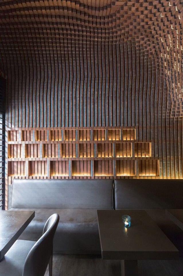 砖的艺术,看看如何把砖赋予艺术性的用在建筑上?_13