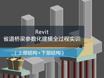 Revit省道桥梁参数化建模全过程实训(revit桥梁建模视频/桥梁BIM建模)