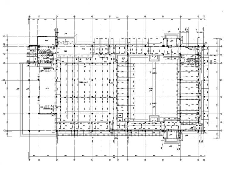 行政服务中心给排水及消防施工图