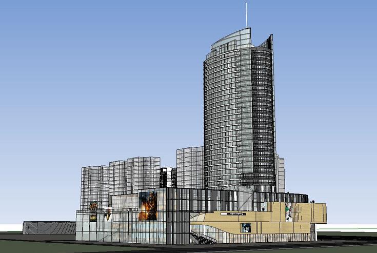 BIM電氣案例丨商業住宅綜合機電項目