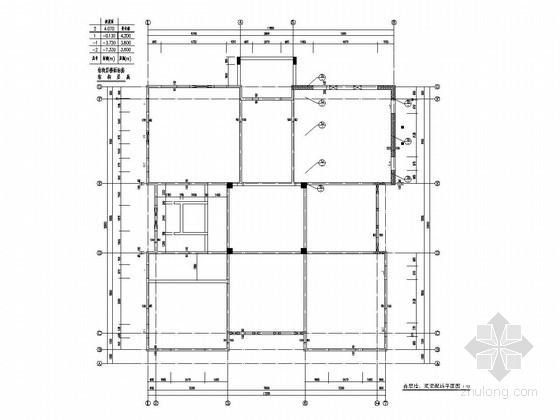 北京别墅加层开洞补板改造施工图