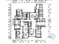[太原]雍容高贵室内家装样板间施工图(含电气系统图)