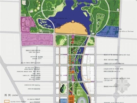 [北京]奥林匹克森林公园及中心区景观规划设计方案