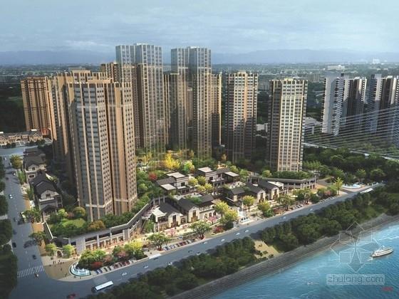 [四川]简欧文化风格居住区景观规划设计方案
