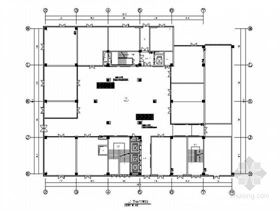 [无锡]会展中心时尚现代风格商会大厦装修施工图