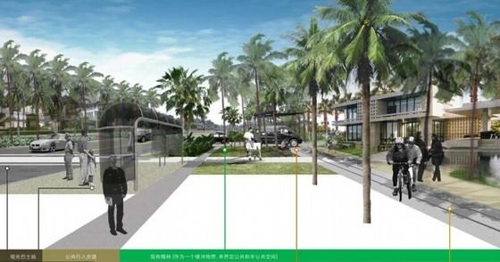 [海南]原生态度假村落小镇规划设计方案(图纸精美)-景观效果图