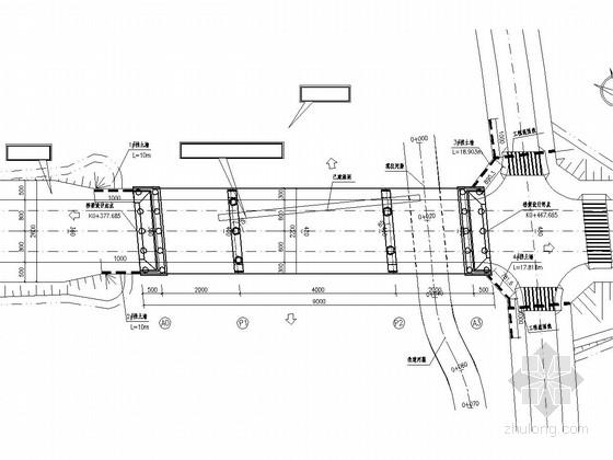 [重慶]20m+40m+20m三跨簡支預應力混凝土T梁橋施工圖設計98張