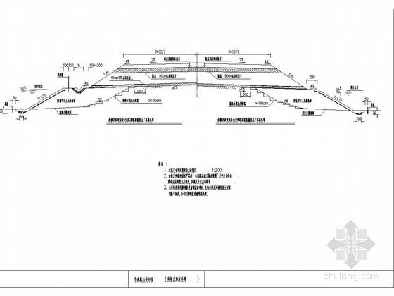 高速公路特殊路基处理设计图