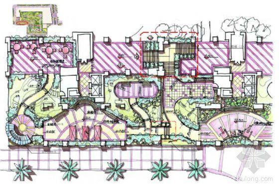 [深圳]花园小区景观扩初设计方案
