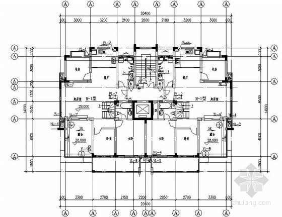 某十二层住宅给排水图纸